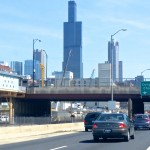 One of the few not-so-fun aspects of my trip: driving through Chicago.